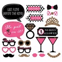 Bridesmaid Gifts - Fashion Wooden photo Booth Prop