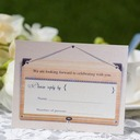 Personalized Modern Style Response Cards (Set of 50)