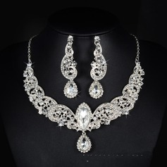 Beautiful Alloy Rhinestones With Rhinestone Ladies' Jewelry Sets (137106141)