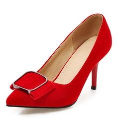 Donna Camoscio Tacco a spillo Stiletto con Altrui scarpe