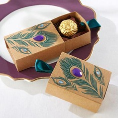 Cubic Kraft paper Favor Boxes