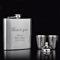 Personalized 4 pieces Stainless Steel Flask