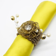 High Quality Beaded Napkin Rings