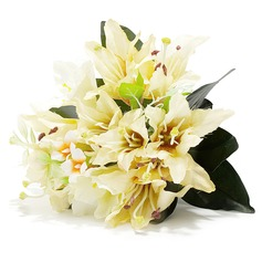 Classic/Lily Hand-tied Satin Bridesmaid Bouquets