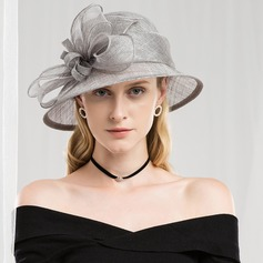 Dames Mode/Romantische/Wijnoogst Batist Fascinators