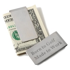 Personalized Beautiful Stainless Steel Money Clips