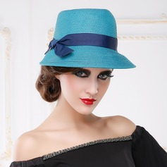 Ladies' Exquisite/Artistic Summer Papyrus With Bowknot Straw Hat