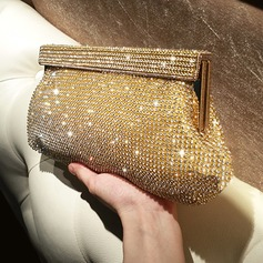 Brillante Cristallo / strass Pochette/Satchel (012118291)