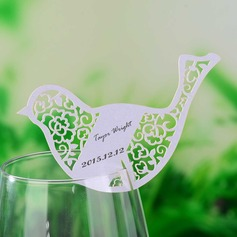 Love Brid Pearl Paper Place Cards