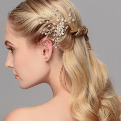Gorgeous Crystal/Imitation Pearls Hairpins