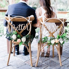 Classic/Beautiful Classic Wooden Wedding Sign