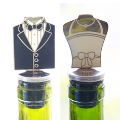 Groom and Bride Bottle Stopper Party Decoration