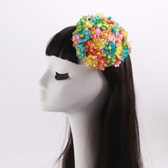 Ladies' Lovely Net Yarn With Tulle Fascinators