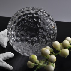 Personalized Golfball Crystal Keepsake