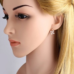 Beautiful Alloy Copper Ladies' Fashion Earrings