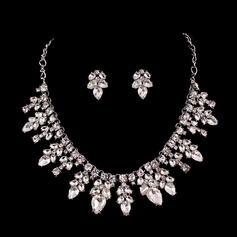 Gorgeous Zinc Alloy With Rhinestone/Crystal Ladies' Jewelry Sets