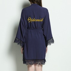 Bridesmaid Gifts - Beautiful Classic Elegant Cotton Robe (Sold in a single piece)
