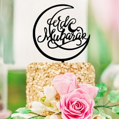 Muslim Islam Eid al-Fitr Religious/Classic Acrylic Cake Topper (Sold in a single piece)