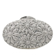 Delicate Crystal/ Rhinestone Clutches/Bridal Purse/Luxury Clutches