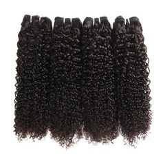5A Curly Human Hair Human Hair Weave (Sold in a single piece)