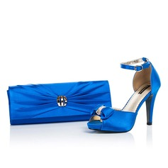 Gorgeous Satin Shoes & Matching Bags
