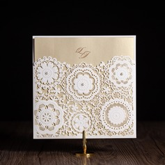 Artistic Style Wrap & Pocket Invitation Cards