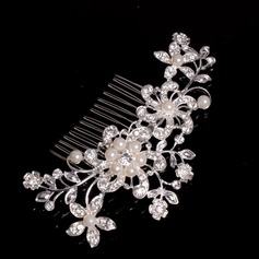 Beautiful Alloy/Imitation Pearls Combs & Barrettes (042071834)