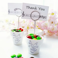 Candy Pail and Place Card Holder Party Decoration