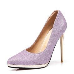 Women's Sparkling Glitter Stiletto Heel Pumps With Sparkling Glitter
