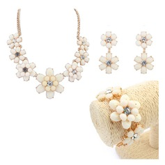 Lovely Alloy Resin Women's Jewelry Sets