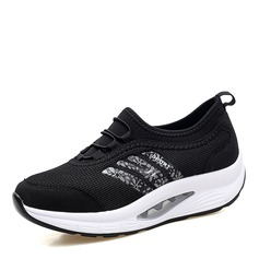 Women's Mesh With Elastic Band Sneakers & Athletic