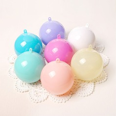 Creative/Classic/Round Ball Plastic Favor Boxes