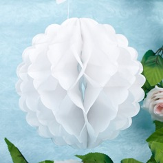 "8""(20cm) Pure/Honeycomb Shaped Paper Flower  (More Colors)"