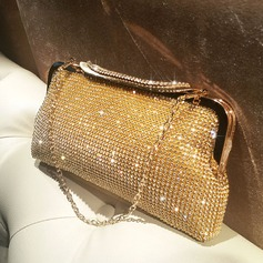 Brillante Cristallo / strass Pochette/Satchel