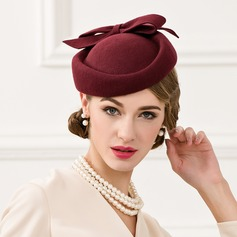 Ladies' Vintage Wool With Bowknot Fascinators
