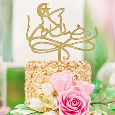 Religious/Classic Acrylic Cake Topper (Sold in a single piece)