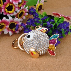 Classic Adorable Fish Crystal Keychains