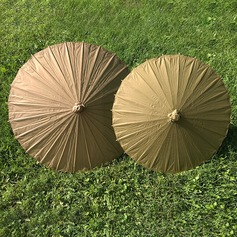 Cotton Paper Wedding Umbrellas