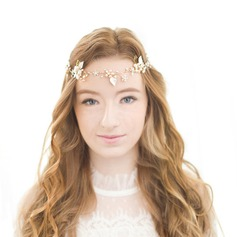 Beautiful Alloy/Freshwater Pearl Forehead Jewelry/Headbands