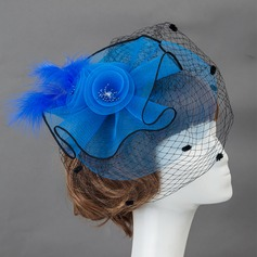 Beautiful Feather/Plastic Fascinators/Flowers & Feathers
