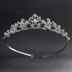 Ladies Special Alloy Tiaras With Rhinestone