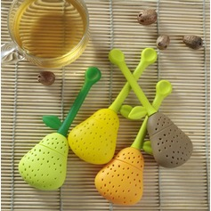 Pear Shaped Silicone Tea Infuser
