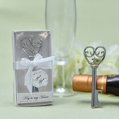 Lovely/Heart Accented Hearts Shape Zinc alloy Bottle Openers