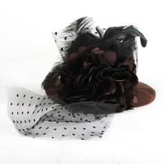 Charming Artificial Silk/Feather Fascinators