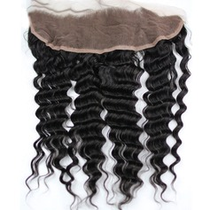"13""*4"" 5A Virgin/remy Deep Human Hair Closure (Sold in a single piece) 100g"