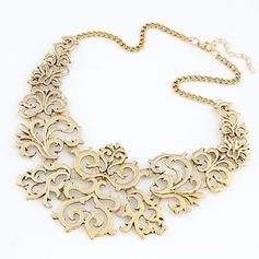 Stylish Alloy Ladies' Fashion Necklace (Sold in a single piece)