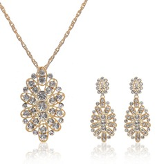 Beautiful Alloy Crystal Ladies' Jewelry Sets (137049124)