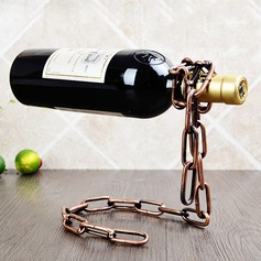 Magic/Standing Chain Design Alloy Bottle Holder / Wine Rack