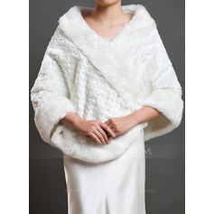 Solid Color Shawls Poncho (204092886)