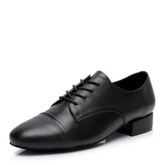 Men's Real Leather Latin Modern Jazz Dance Shoes